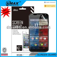 Mobile Phone / Cell Phone For Moto x screen protector oem/odm (Anti-Fingerprint)