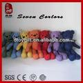 regalos de la promoción de colores de la felpa oso de peluche de venta al por mayor de peluche pequeño oso