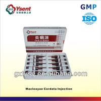 Importer Inexpensive Veterinary Antibiotic Medicine of Macleayae Cordata Injection