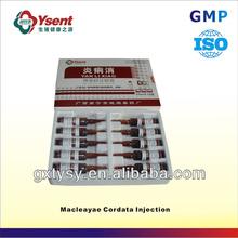 Chinese Top Veterinary Medicine Company of Macleayae Cordata Injection