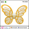 Dress Up Princess Yellow Butterfly Fairy Wings Kids Costume Halloween Item