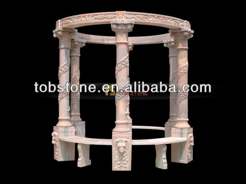 Sculpt la main naturelle pierre gazebo vendre - Gazebo a vendre pas cher ...