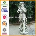 hembra de resina estatua del jardín