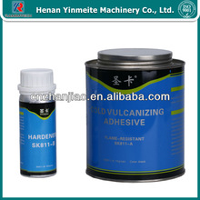 Two components rubber conveyor belt cold vulcanizing adhesive SK811,flame-resistant