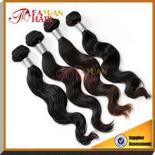 No Chemical Process 100% virgin human Malaysian body wave hair