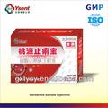 China primeiro- taxa de diarréia berberine sulfato de injeção