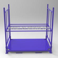 Folding rack for passenger car and light truck tyers