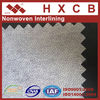 100%polyester PA Double Dot Non woven Waterproof Adhesive Fusible Interlining For Garment accessories