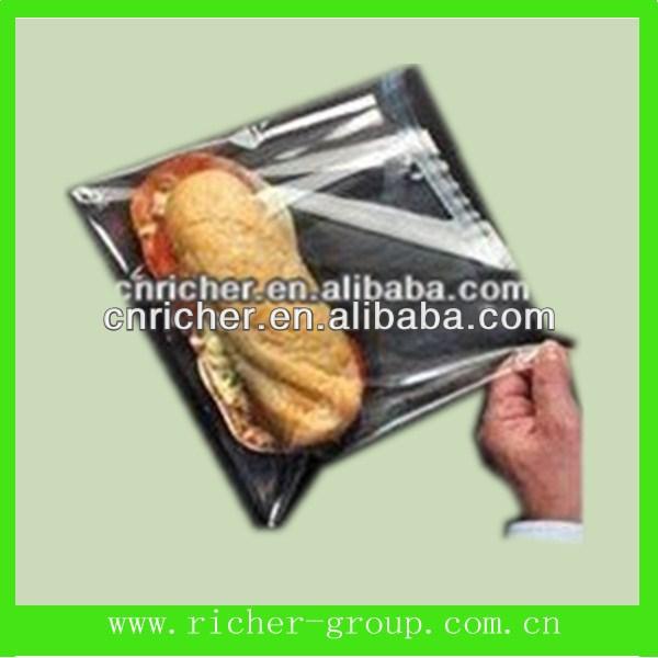 Biodegradable Plastic Self-adhesive Bags For Hotdog