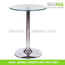 modern glass bar table BN-T006