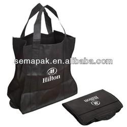 Customized purse shaped non woven foldable bag
