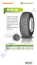 Radial Steel Truck Tire Camrun 385/65R22.5