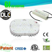 Horizontal socket swivel LED street light retrofit kit with 5 years warranty
