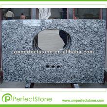 Water wave granite prefab table tops
