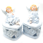 Baby Baptism Angel Souvenirs,Angel Rosary Box,Home Decor Gift,TS3099