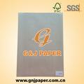Personalizado papel vegetal Pad