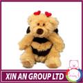 Peluş arı oyuncak/oyuncak arı/sarı arı elbise ve kanat