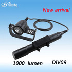2014 New DIV09 Diving Flashlight 1000 Lumen Scuba Diving Equipment LED Canister Diving Light