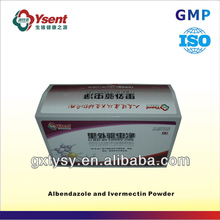 New-type Top Animal Drugs Veterinary Medicine of Albendazole and Ivermectin Powder