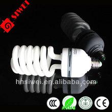 CFL 14.5mm 45W half Spiral energy saving lamp Mixed / halogen powder bulb Screw / bayonet type bulb