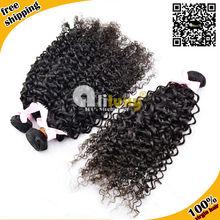 6a grade 100 percent virgin deep curly wholesale indian hair