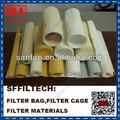 Nomex/aramide sacchetto filtro