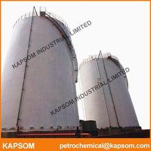 High quality ASME large lng lpg stainless steel storage pressure tanks