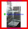 500kgs Steel Mesh Pallet Cage Trolley