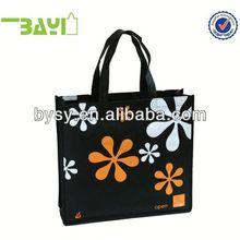 2014 Hot flower print gift shopping bag