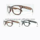 Promotional Plastic Vogue fake stones sunglasses