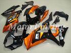 for suzuki gsx r1000 k7 2007-2008 gsxr1000 fairing kit gsxr1000 07 gsxr 1000 bodykit gsxr1000 08 gsx orange black