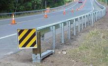 w beam aashto m180 guardrail