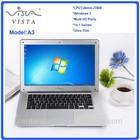 Promotional China Cheap Laptops Dual Core Wholesales Laptops 14.1inch Dual Core Intel Atom D2500 Laptop