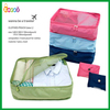 Encai Foldable Travel Organiser Pouch For Clothes/Monopoly Portable Underwear Storage Bag/Nylon Mesh Toiletry Bags In Bag(L)