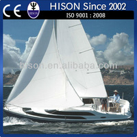 Hison economic design aluminum cabin boats