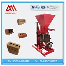 SL1-25 automatic clay brick making machine suppliers hydraulic soil interlocking block machine price