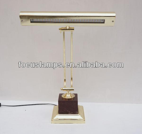 골동품 황동 LED 피아노/ 책상 램프 현대적인 테이블 램프-LED ...