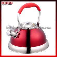 2.6L 18/10 Stainless Steel Whistling Kettle Tea kettle Tea pot