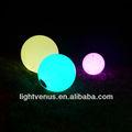 Led bola de color/led bola del estado de ánimo/led lámpara de bola para la decoración del jardín
