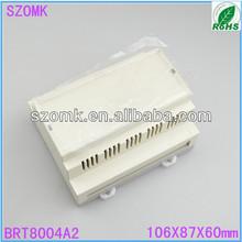 shenzhen electronics din rail electrical box106x87x60mm