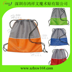 HXW-Colorful&reusable polyester bag for promotation