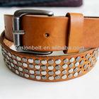 belt 2014! hot sale hip mens gold metal belt