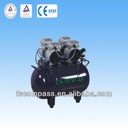 45L dental air compressor price,oil-free air compressor,portable air compressor