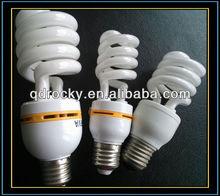 Half spiral 7W 15W 23W 26W 32W CFL 6000Hours one year guarantee