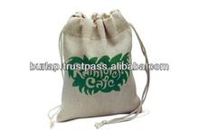 plain jute shopping bag