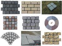 China granite block price paving block
