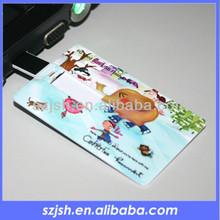 wholesale credit card usb flash, customized logo printing business card usb flash,cheap usb flash drives wholesale