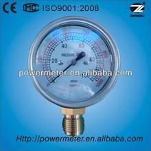 60mm Pocket test and low pressure differential pressure gauge