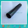 Tuberías de hierro negro/tubo de metal del tubo cuadrado