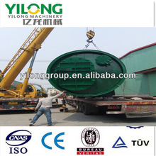 Green tech newest design scrap uesd tyre recycling to oil plant with CE&ISO Certificate